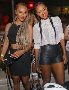 [Girls Night Out] Keri Hilson Parties At Prive With Julissa Bermudez and Nikki Chu | Necole Bitchie.com