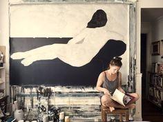 Nikoleta Sekulovic Figure Painting, Figure Drawing, Painting & Drawing, Portrait Art, Portraits, Life Drawing, Contemporary Paintings, Art Studios, Painting Techniques