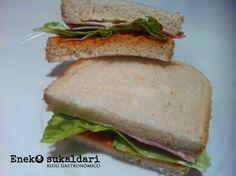 Este sandwich del ENEK es todo un clásico en Bilbao, esta es mi versión de la receta que se aproxima bastante a la original.
