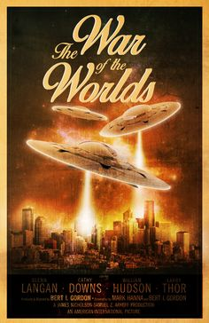 War of the Worlds is a 1953 film directed by Byron Haskin, based on the eponymous novel by HG Wells in 1897. It is considered a classic of science fiction cinema.  The film won an Academy Award for special effects.