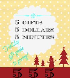 #Holiday #gift #giving ideas. Last minute...even bookmark for next year.