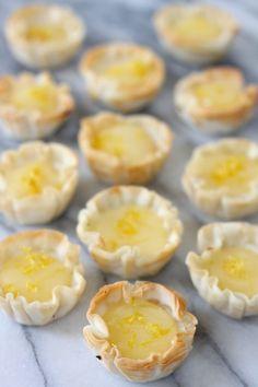 Mini Lemon Cheesecakes | The Organic Kitchen Blog and Tutorials