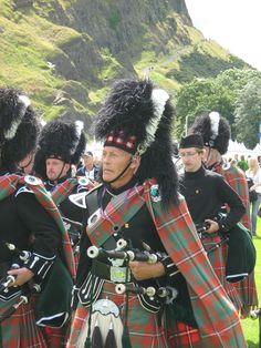 HIGHLAND GAMES in Edinburgh #Schottland