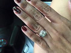Ritani cushion halo engagement ring....the ring i want :)