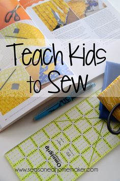 Looking for the perfect guide to teach your child to sew? Start with the absolute basics of stitching ~ hand sewing ~ then gradually move on to skills and techniques that allow kids to learn to sew safely and confidently. Teaching sewing can be fun. Teaching kids sewing ~ even more fun!