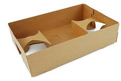 Southern Champion Tray 0120 Kraft Paperboard 4 Corner Pop Up Food  Drink Tray 10 L X 65 W X 2 5 H 25 Piece -- This is an Amazon Affiliate link. You can get more details by clicking on the image.