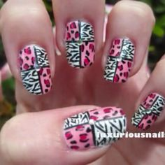 Animal print nails. Maybe different colors and more variety of prints