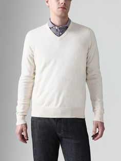 Kai-aakmann simple but beautiful sweater