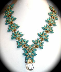 Stanley Hagler N Y C Necklace Art Glass Crystals Seed Beads 3 PC Set | eBay