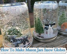 Welcome to living Green & Frugally. We aim to provide all your natural and frugal needs with lots of great tips and advice, How To Make Mason Jars Snow Globes