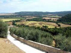Montestigliano - view over the valley which lies below Montestigliano.