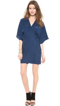 Amanda Uprichard Kimono Wrap Dress, on @Shopbop