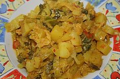 Kartoffel-Wirsing Curry 5