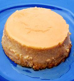 Flan de Guayaba y Queso (Guava and Cheese Flan) | mycolombianrecipes.com
