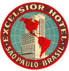 Excelsior Hotel - São Paulo Antiga