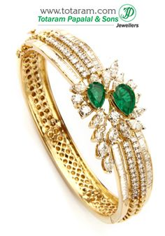 Totaram Jewelers: Buy 22 karat Gold jewelry & Diamond jewellery from India: Diamond Bracelets