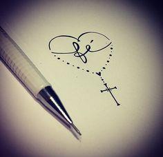 Tattoo fé faith
