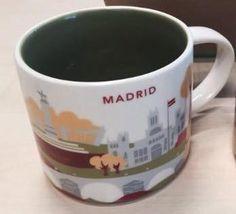 Madrid   YOU ARE HERE SERIES   Starbucks City Mugs