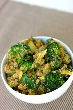 Green goddess honey cilantro stir fry with quinoa