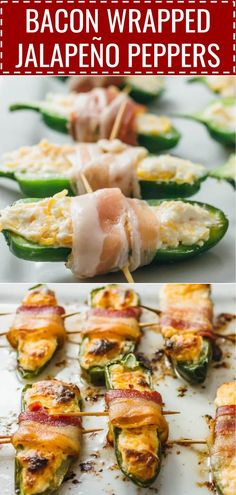 bacon wrapped jalapeño peppers #keto #lowcarb baked jalapeno poppers, cream cheese jalapeno poppers, fried jalapeno poppers, cream cheese stuffed jalapenos, recipe, grilled, dip, with sausage, easy, simple, fast, wrapped in bacon, biscuits, healthy, chicken keto / low carb / diet / atkins / induction / meals / recipes / easy / dinner / lunch / foods / healthy / gluten free / paleo
