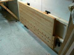 Wall-Mounted Folding Workbench   The Wood Whisperer