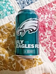 Philadelphia Eagles 2017 Bud Light Fly Eagles Fly Beer can opened #BudLightBeer #PhiladelphiaEagles