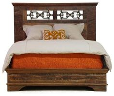 Cambria California King Bed - eclectic - beds - san francisco - by Zin Home