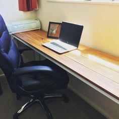 ": ""Project Desk: First custom made table! Made out of New Zealand recycled heart rimu, so still has…"""