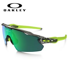 2d3293f1a5 Oakley Radar EV Pitch Sunglasses with Grey Ink Frame and Jade Iridium Lens