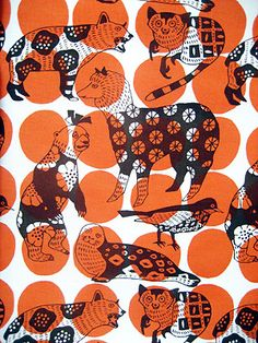 Textile design makumo. i like that this is a pattern over a pattern