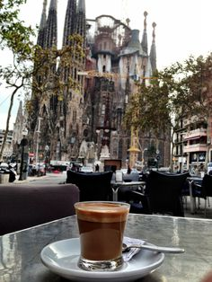 Barcelona, Spain -- Loved this coffee place. What a view!! WOWOWOW!