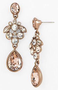 Givenchy Gold Drop Earrings