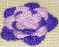This Crochet flower is a great flower for hats, pillows, and even a great addition to a baby blanket.This and many other amazing patterns can be found here at craftown.com.