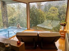 A spa with a view - Peppers Lodge, Cradle Mountain, Tasmania #travelmatters