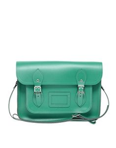 """Cambridge Satchel Company Exclusive to Asos 13"""" Leather Satchel    SCREAMING BC THESE COME IN PASTELS NOW"""
