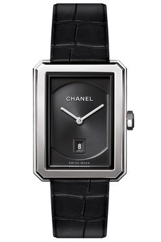 Tank  Chanel Boy.Friend watch, $4,150, 800-550-0005.  Courtesy Brand