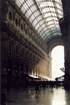 Galleria Vittorio Emanuele II, Milan. Even more beautiful in person