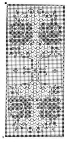 Crochet and arts: Filet crochet wipes