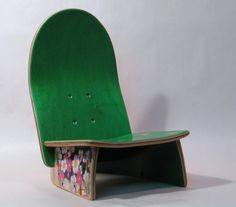 a baby DECK chair :: skateboard deck chair
