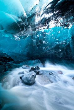 Under a Glacier by Jonathan Tucker