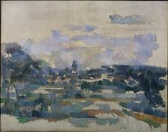 Paul Cézanne (1839 - 1906) - Turning Road (Route Tournante), c. 1905