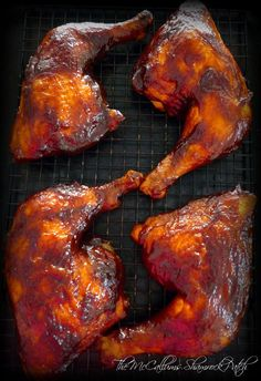 Rain or shine you'll be covered with this deliciously Simple BBQ'd Chicken Leg Quarters recipe that you can do on your grill or in your oven if it's raining this summer.…