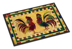 Bird - Rooster Indoor or Outdoor Mat 18x27 Doormat