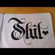 @Danny Fox #calligraphy #handlettering  #lettering