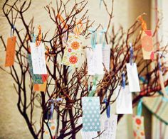 Wishing Trees on itsabrideslife.com/Wedding Guestbook Ideas/Wedding Wishing Trees