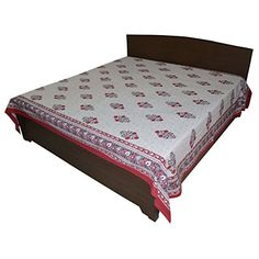 DronaIndia Floral Design Rapid Print Cotton Flat Double Bedsheet from India Indian Musical Instruments, Double Bed Sheets, Shop Up, Home Decor Online, Jewellery Boxes, Indian Gods, Home Kitchens, Printed Cotton, Home Furnishings