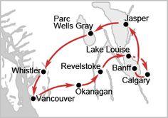 Road Trip Vancouver - Calgary