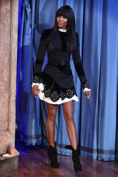 Naomi Campbell in Alexander McQueen: February 8th, 2013