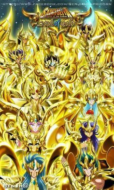 Soul of Gold 2015 Saint Seiya