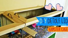 ♥AVAILABLE IN HD♥ Hi Guys! Today's Video I will show you the process of how we made a Top for our new Detolf Hamster Cage! If you have any Questions regardin...